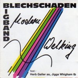 Cover Bigband Blechschaden - Modern Walking