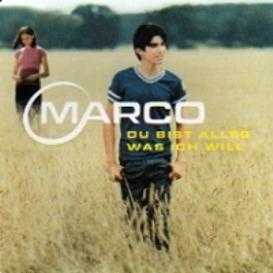 Cover Marco Du bist alles was ich will