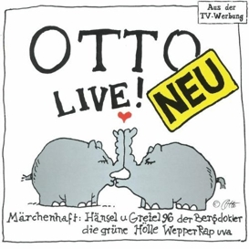 Cover Otto Waalkes Live!