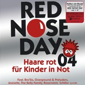Cover Red Nose Day 04 Haare rot für Kinder in Not